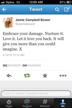 Jamie Campbell Bower Quote. I love him because he is not a cookie cutter. He goes his own way.