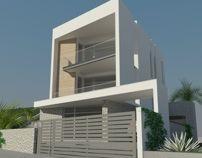 Krasici House by arh.nenad jovanovic, via Behance