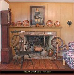 Colonial Homes American Decorating