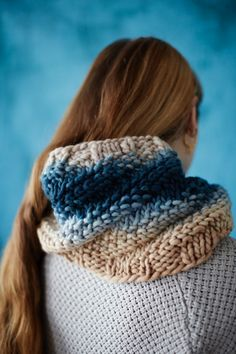 Cecelia Cowl by Rachel Atkinson for Loop London || my life in knitwear