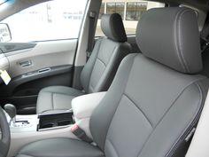 Front view. Subaru Tribeca, Car Seats