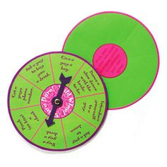 One Dare Spinner Game.    This Dare Spinner game is perfect for those Hen parties that venture out to a restaurant or bar. You'll all have heaps of fun spinning the dare wheel and creating havoc with random men!