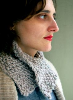 Whit's Knits: Just-In-Time Neck Cozy