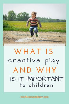 Find out what is creative play and what creative activities you can incorporate in to your life as alternative to screen time. This type of open-ended play will help your child develop imagination and creativity. Click to find out. #creativeplay #creativekids #screenfree #kidsactivities