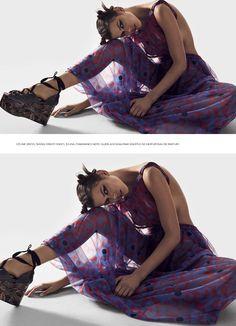 "Duchess Dior: ""Fan Fiction"" Georgia Fowler for Harper's Bazaar Australia April 2017"