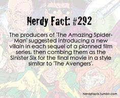 Nerdy Fact #292 Yes! A million times yes!
