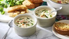 Grilled Caribe Cheese Soup is a uniquely flavored vegetarian soup that is hearty & satisfying. Creamy vegetable soup is finished with spicy poblano peppers and deliciously grilled Caribe® cheese.