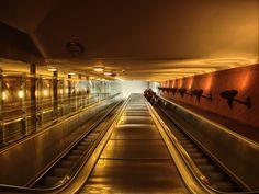 escalators by HeretyczkaA