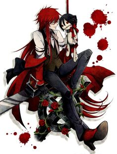Grell from Black Butler