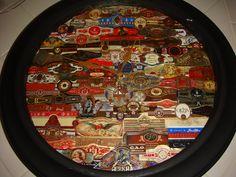 Cigar Band Clock
