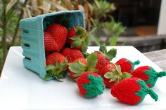 Ravelry: atbixby's Wooly Yummy Strawberries
