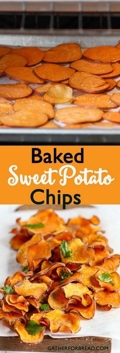 Looking for that easy and healthy snack alternative to bagged chips? Baked Sweet Potato Chips - Gluten Free Paleo Whole 30 Healthy - These tasty chips will satisfy your snack cravings. So good you'll want them all the time! Whole 30 Snacks, Whole 30 Lunch, Snacks For Work, Whole 30 Recipes, Good Snacks, Whole 30 Drinks, Baked Whole Chicken Recipes, Whole Foods, Diy Snacks