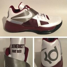 f9b77c5ea7d9 Nike Zoom KD IV Spring Summer Cheap Saint Benedicts Preparatory School PE