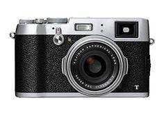 "Fujifilm X100T Appareil photo hybride Ecran 3"" (7,62 cm) 16,3 Mpix Boîtier + Objectif Fujinon Argent"