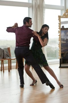 Gilles Marini and Reshma Shetty