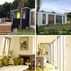 Greetings from Cornwall! :) Container 45 is a tiny shipping container home available for rent located in Madron, Cornwall in the United Kingdom. Ti...