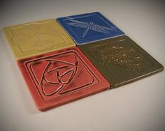 Arts and Crafts tile / coaster set.   This was a fantastic purchase!  Absolute quality!