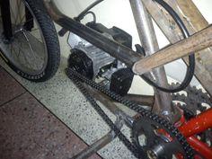 Construcción de una moto de 49 cc, con partes de bicicleta - Página 4