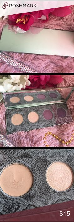 💐mally palette💐 💕Received in a trade but isn't  for me...It's practically new ..💞... Plum Chelsea ... Citychick smiley eye kit mally Makeup Eyeshadow