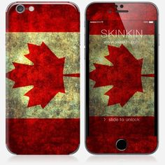 Skins iPhone 6 et 6S - Canadian flag
