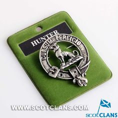 Hunter Clan Crest Pe