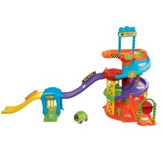 BARGAIN VTech Baby Toot-Toot Drivers Parking Tower NOW £23.98 At Amazon - Gratisfaction UK Bargains #vtech #baby