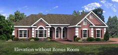 Elevation of Ranch   House Plan 92463