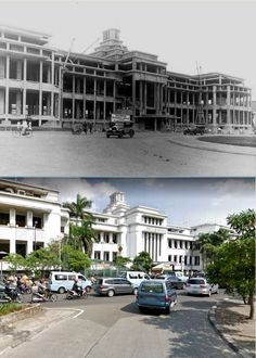 Bank Mandiri, Dutch East Indies, Old Pictures, Jakarta, Past, Articles, Mansions, History, Architecture