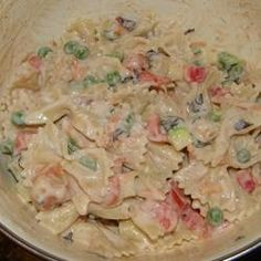 Italian Confetti  Pasta Salad Allrecipes.com  us fat free mayonnaise