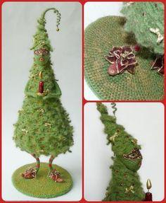 Елка в стиле MERRY CHRISTMAS - С душой..для души... - Галерея - Форум почитателей амигуруми (вязаной игрушки)