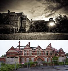 Abandoned Mental Asylum Hellingly - possibly haunted with strange noises often being heard and apparitions being seen. Unfortunately it is scheduled for demolition. Will the ghosts remain? Hmmm....