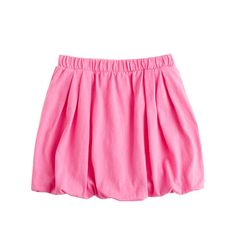 Girls' knit bubble skirt  Love this particularly in red color