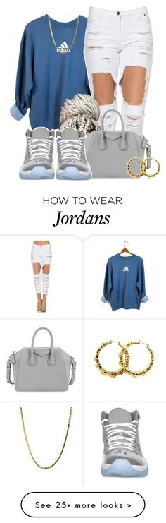 """""""Untitled #562"""" by b-elkstone on Polyvore featuring adidas, Givenchy, Retrò, Fergie, women's clothing, women's fashion, women, female, woman and misses"""