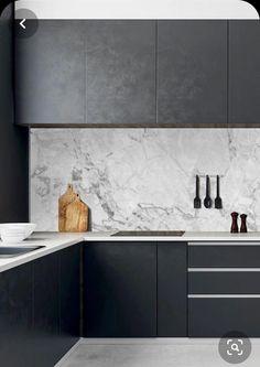 Luxury Kitchen Design, Kitchen Room Design, Home Decor Kitchen, Interior Design Kitchen, Home Design, Kitchen Furniture, Home Kitchens, Interior Livingroom, Interior Modern