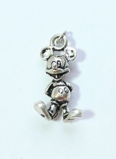 Sterling Silver 925 DISNEY MICKEY MOUSE Pendant or Charm #Pendant