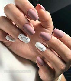 NagelDesign Elegant Elegant Nail Art Wish ) # Best Acrylic Nails, Summer Acrylic Nails, Summer Nails, Acrylic Gel, Nagel Stamping, Mauve Nails, Matte Gel Nails, Pointy Nails, Nail Manicure