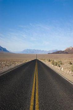 6255 Open Highway Road Deserted Backdrop - Backdrop Outlet