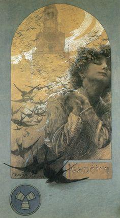 Alphonse Mucha (1860–1939), Memory Of Ivancice