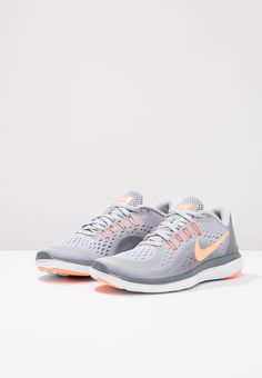 c15bd60c8dd5b FLEX 2017 RN - Juoksukenkä neutraalit - wolf grey sunset glow cool grey -  Zalando.fi. Nike Performance FLEX 2017 RUN ...