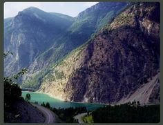 Lillooet, British Columbia - one of the most beautiful places I've ever been. no work - but i'd love to be able to have a cottage or something :-) when i'm rich. and old.