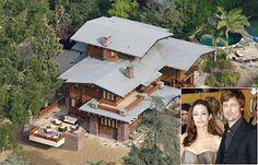 Brad and Angelina's California home