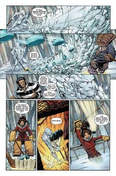Hockey at the Jean Grey School for Higher Learning by Patrick Scherberger (Marvel Holiday Special 2011)