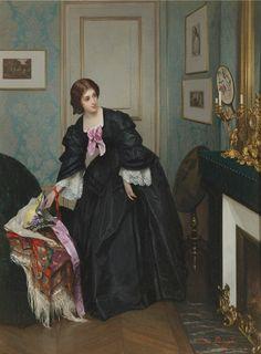 Gustave Leonard de Jonghe (b Kortrijk, Belgium, 1829; d Antwerp, Belgium, 1893) Belgian painter. Jongh was painter and a watercolorist...