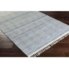 Hand-Woven Charleigh Cotton Rug (2'6 x 8') | Overstock.com Shopping - The Best Deals on Runner Rugs
