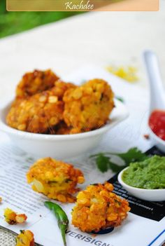Indian Lentil Fritters - my fave Indian snack with chai