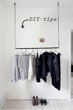 Sofias Inredning - DIY-tips: Klädhängare