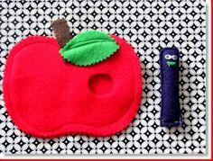 Felt Tutorial, I Like Apples · Felting | CraftGossip.com