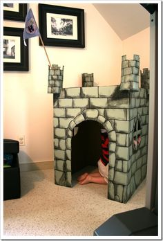 Cardboard castle how-to