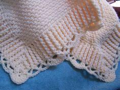 Trevor's Baby Blanket-crochet pattern.
