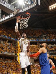 Eastern Conference Semifinals: Game 3 | (3) Indiana #Pacers over (2) New York #Knicks 82-71. Indiana leads series 2-1.